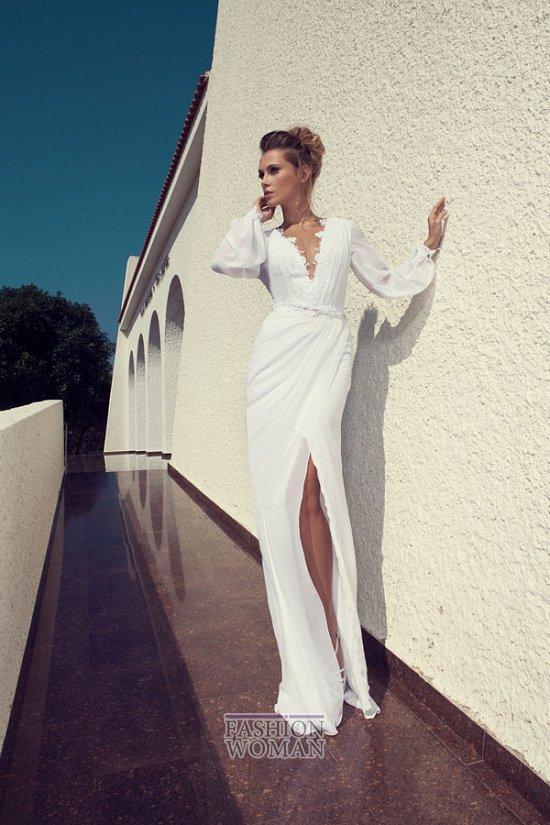 Свадебные платья 2014 от Julie Vino фото №13