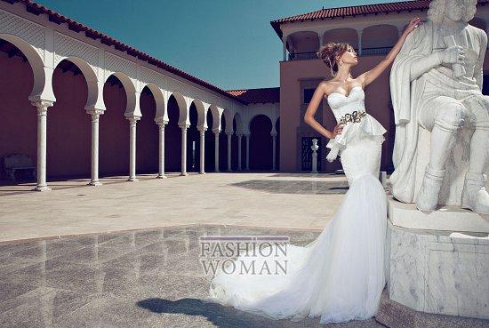 Свадебные платья 2014 от Julie Vino фото №17