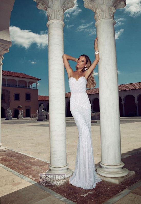 Свадебные платья 2014 от Julie Vino фото №20