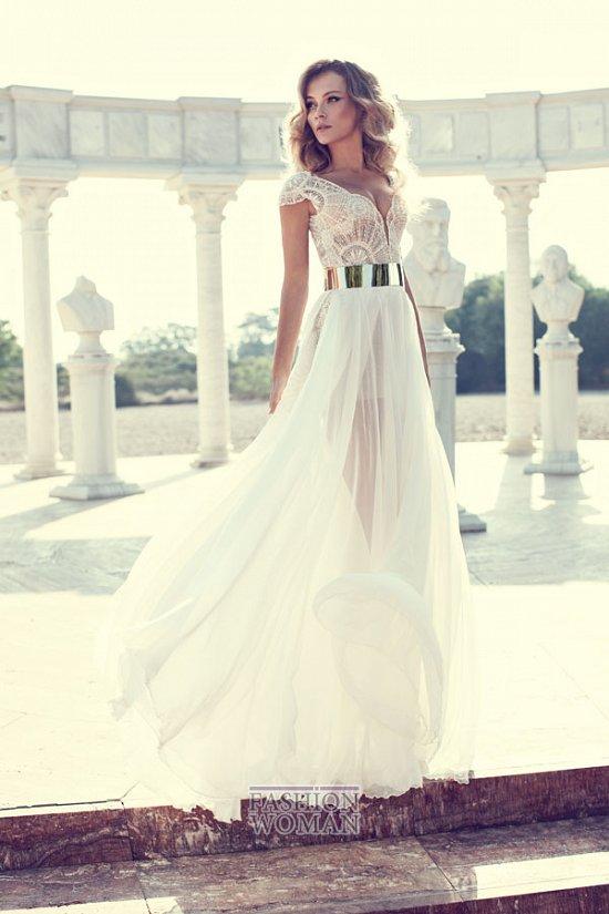 Свадебные платья 2014 от Julie Vino фото №6