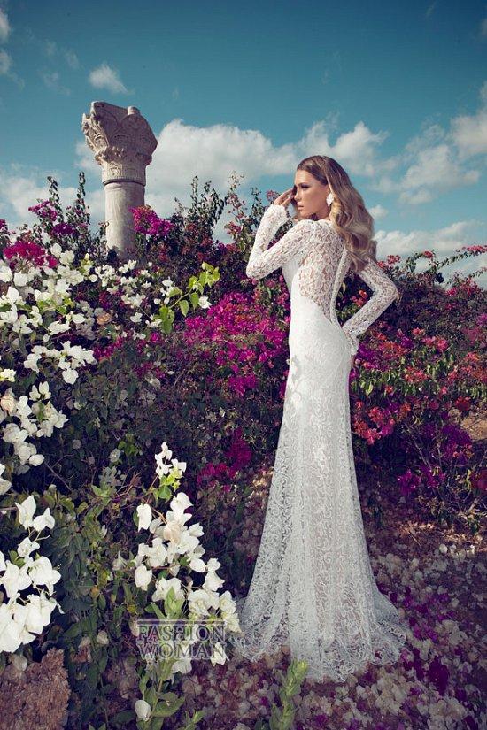 Свадебные платья 2014 от Julie Vino фото №10