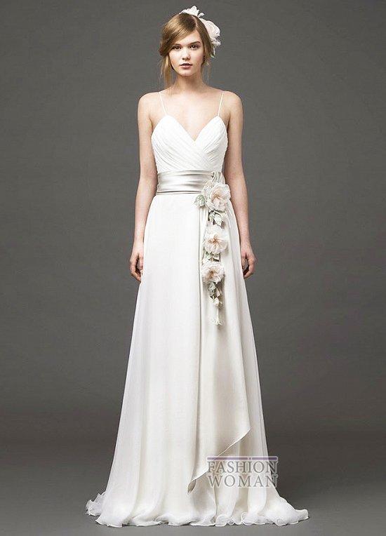 Свадебные платья 2015 от Alberta Ferretti фото №4