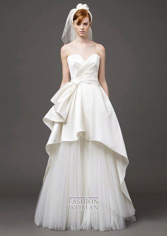 Свадебные платья 2015 от Alberta Ferretti фото №11