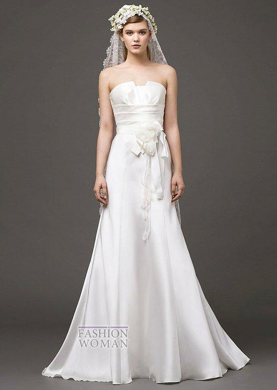 Свадебные платья 2015 от Alberta Ferretti фото №12
