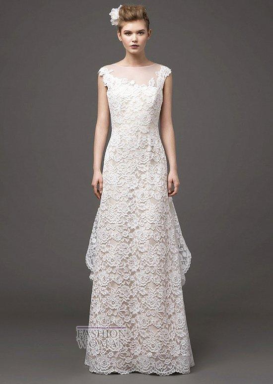 Свадебные платья 2015 от Alberta Ferretti фото №13