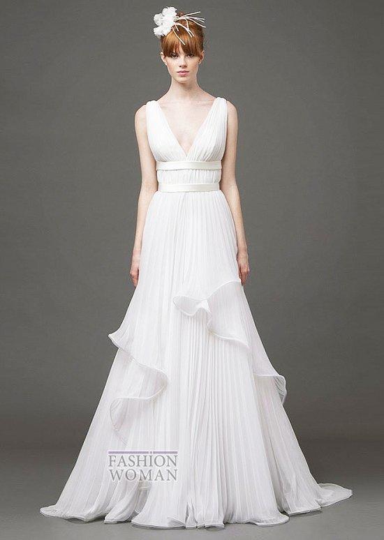 Свадебные платья 2015 от Alberta Ferretti фото №14