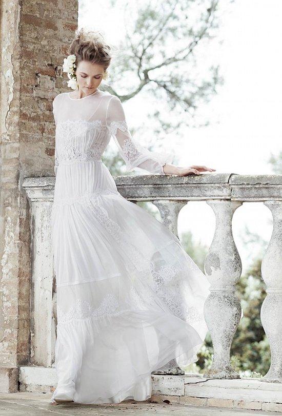 Свадебные платья Alberta Ferretti 2016 фото №2