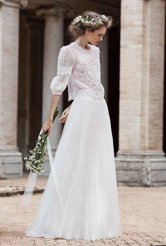 Свадебные платья Alberta Ferretti 2016 фото №5