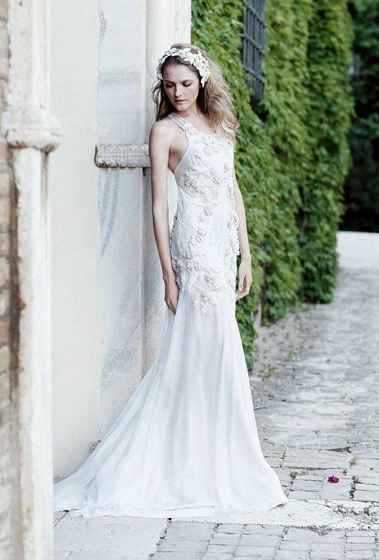 Свадебные платья Alberta Ferretti 2016 фото №7