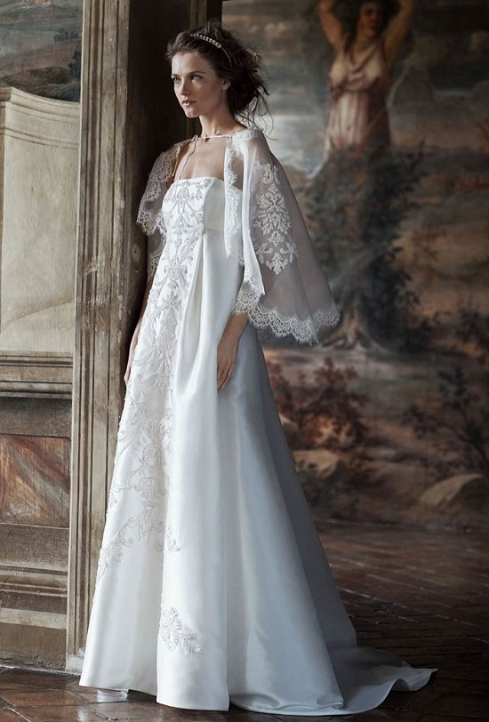 Свадебные платья Alberta Ferretti 2016 фото №10