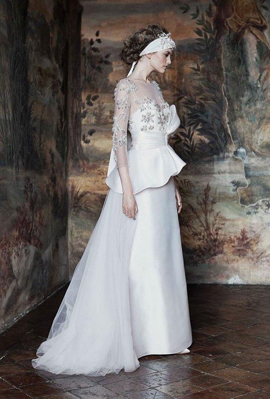 Свадебные платья Alberta Ferretti 2016 фото №12