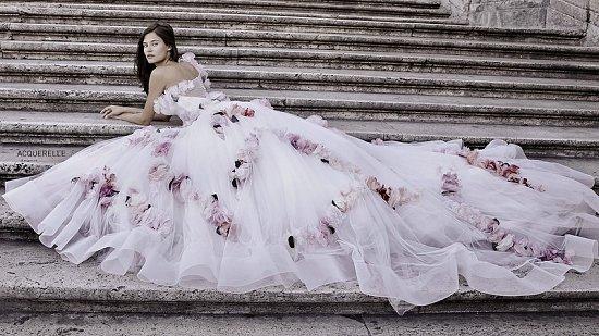 Свадебные платья Alessandro Angelozzi Couture 2015 фото №23