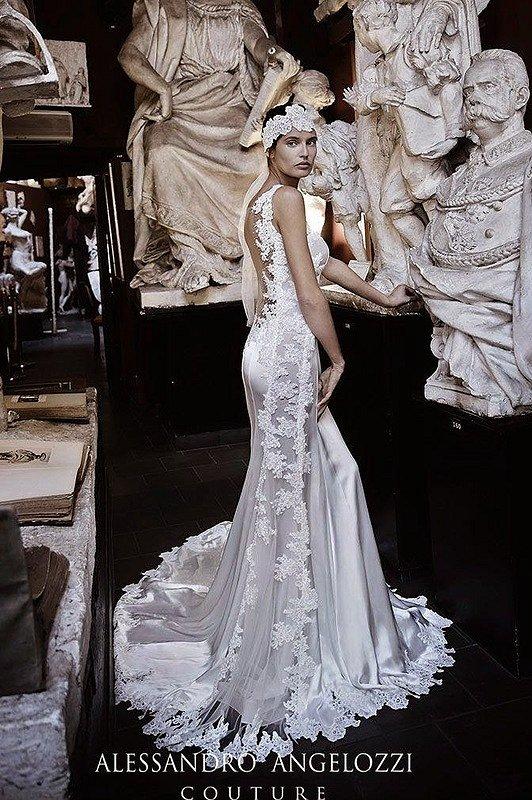 Свадебные платья Alessandro Angelozzi Couture 2015 фото №4