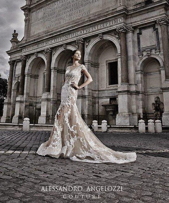 Свадебные платья Alessandro Angelozzi Couture 2015 фото №6