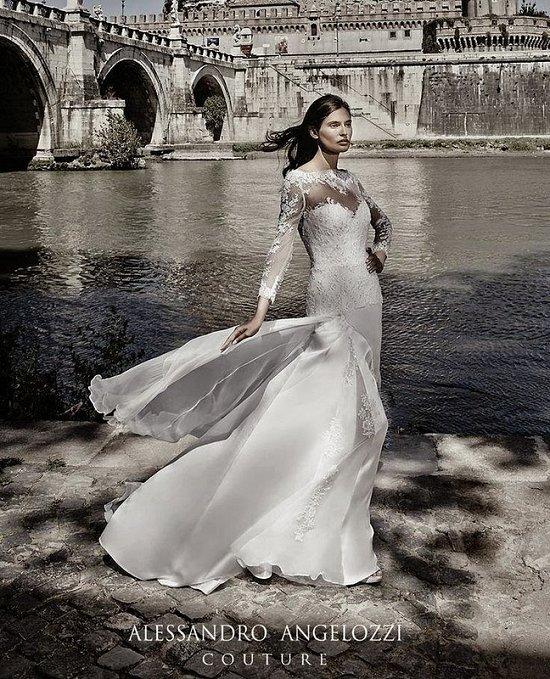 Свадебные платья Alessandro Angelozzi Couture 2015 фото №8