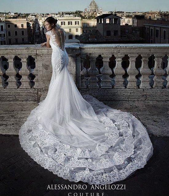 Свадебные платья Alessandro Angelozzi Couture 2015 фото №10