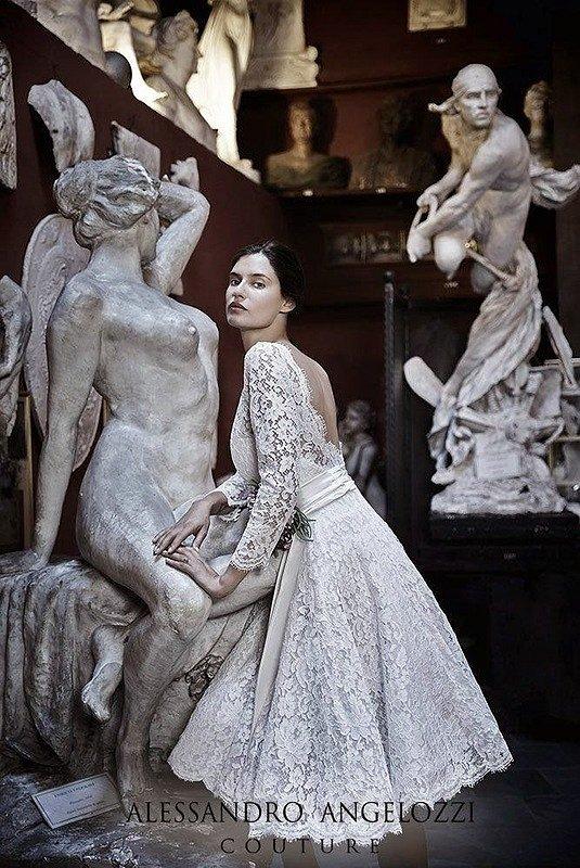 Свадебные платья Alessandro Angelozzi Couture 2015 фото №13