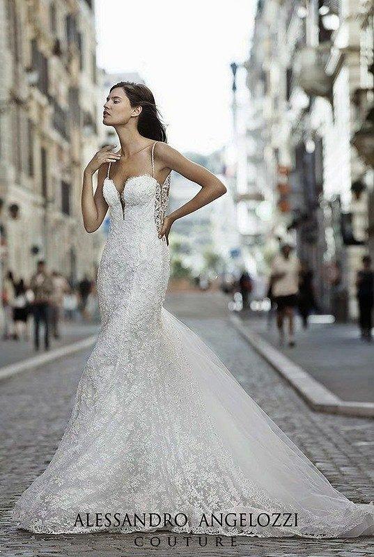 Свадебные платья Alessandro Angelozzi Couture 2015 фото №12