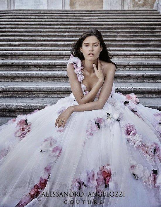 Свадебные платья Alessandro Angelozzi Couture 2015 фото №14