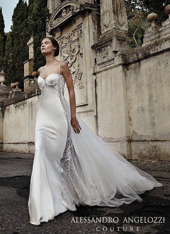 Свадебные платья Alessandro Angelozzi Couture 2015 фото №18