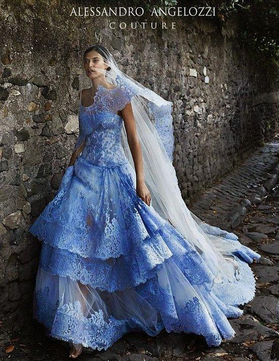 Свадебные платья Alessandro Angelozzi Couture 2015 фото №20
