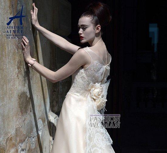 Свадебные платья Atelier Aimee pre-collection 2015 фото №6