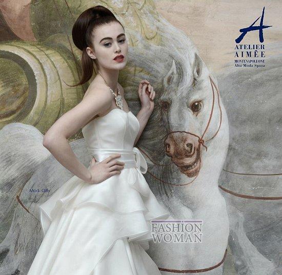 Свадебные платья Atelier Aimee pre-collection 2015 фото №14
