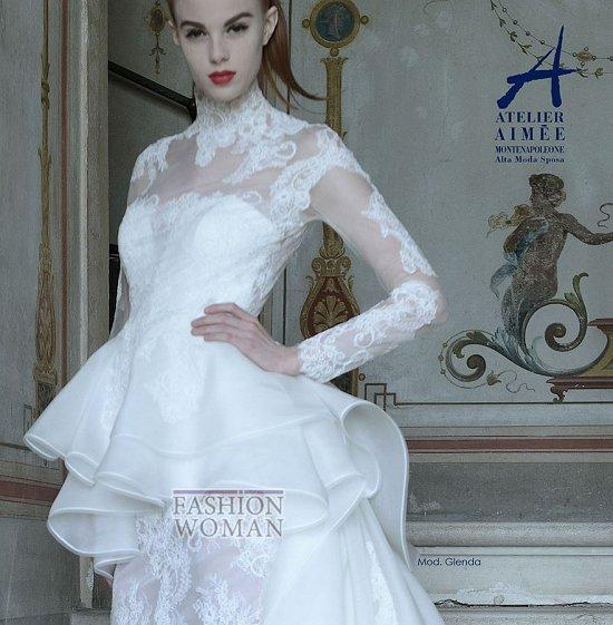 Свадебные платья Atelier Aimee pre-collection 2015 фото №18
