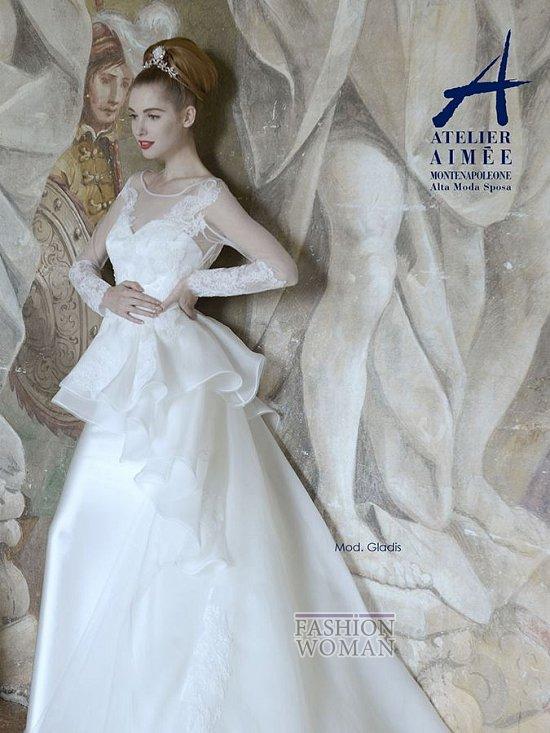 Свадебные платья Atelier Aimee pre-collection 2015 фото №20