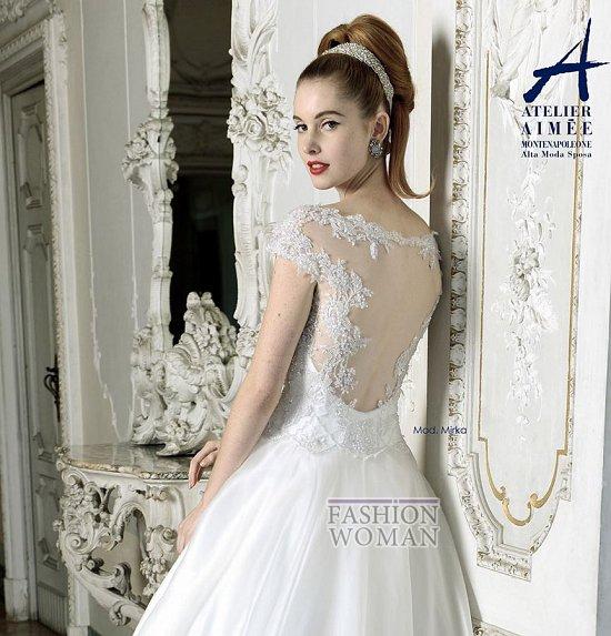 Свадебные платья Atelier Aimee pre-collection 2015 фото №22