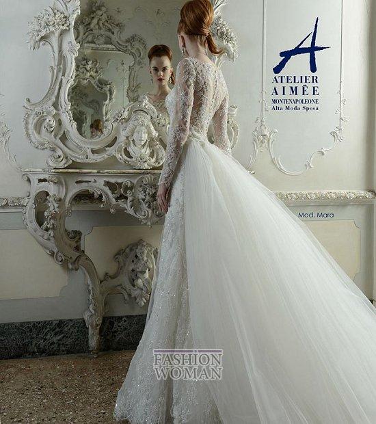Свадебные платья Atelier Aimee pre-collection 2015 фото №25