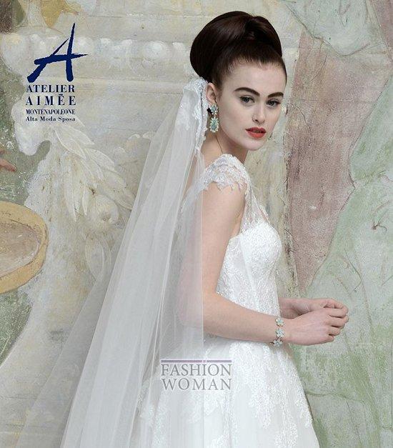 Свадебные платья Atelier Aimee pre-collection 2015 фото №26