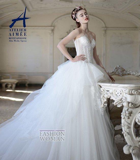 Свадебные платья Atelier Aimee pre-collection 2015 фото №28