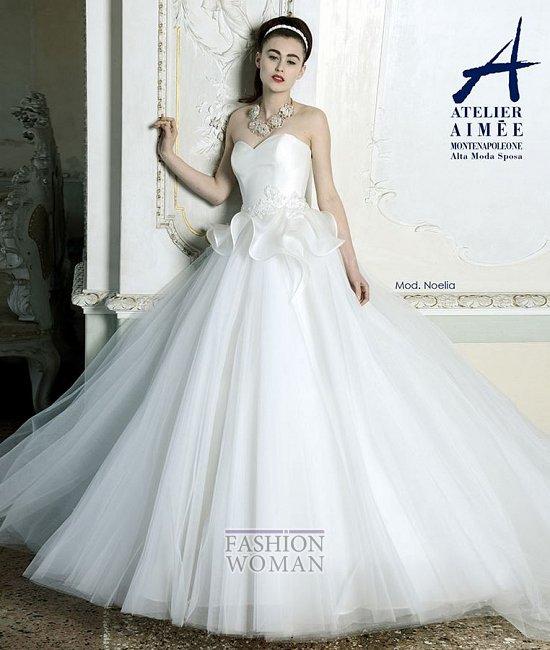 Свадебные платья Atelier Aimee pre-collection 2015 фото №33