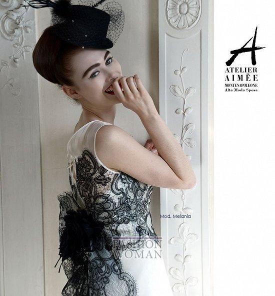 Свадебные платья Atelier Aimee pre-collection 2015 фото №48