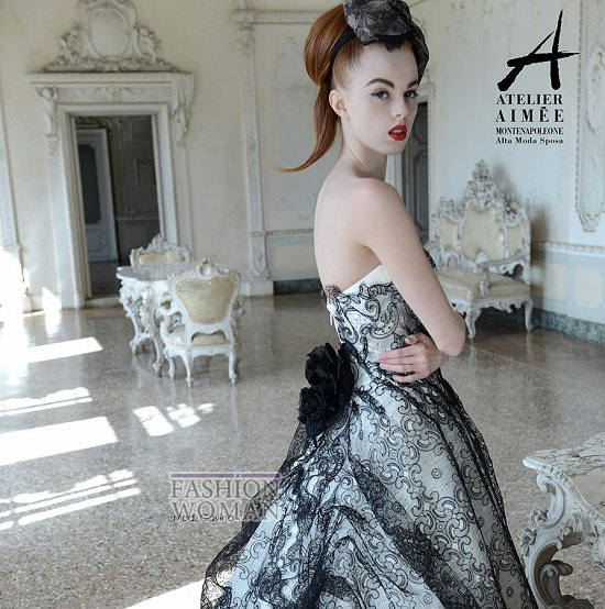 Свадебные платья Atelier Aimee pre-collection 2015 фото №50