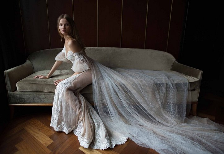 Свадебные платья Berta осень-зима 2016-2017 фото №6