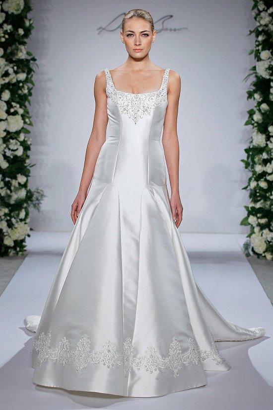 Свадебные платья Dennis Basso осень-зима 2015-2016 фото №2