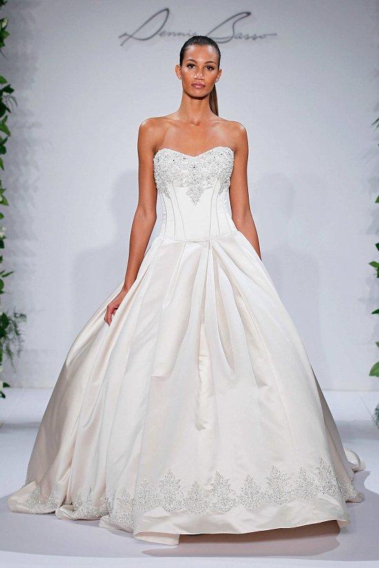 Свадебные платья Dennis Basso осень-зима 2015-2016 фото №4