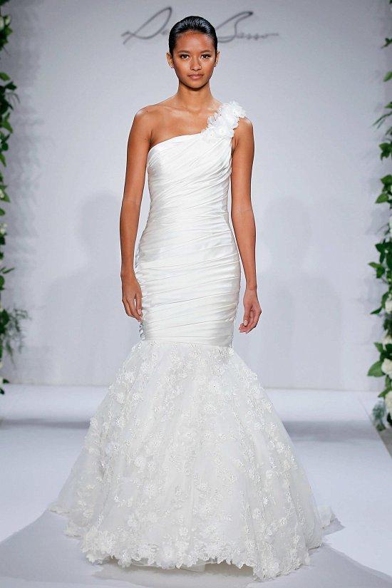 Свадебные платья Dennis Basso осень-зима 2015-2016 фото №8