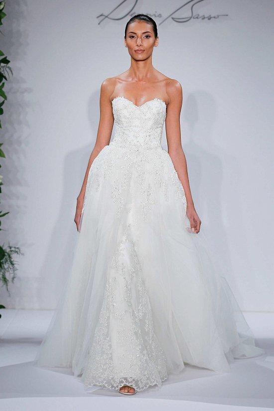 Свадебные платья Dennis Basso осень-зима 2015-2016 фото №10