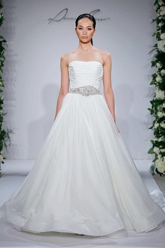 Свадебные платья Dennis Basso осень-зима 2015-2016 фото №12