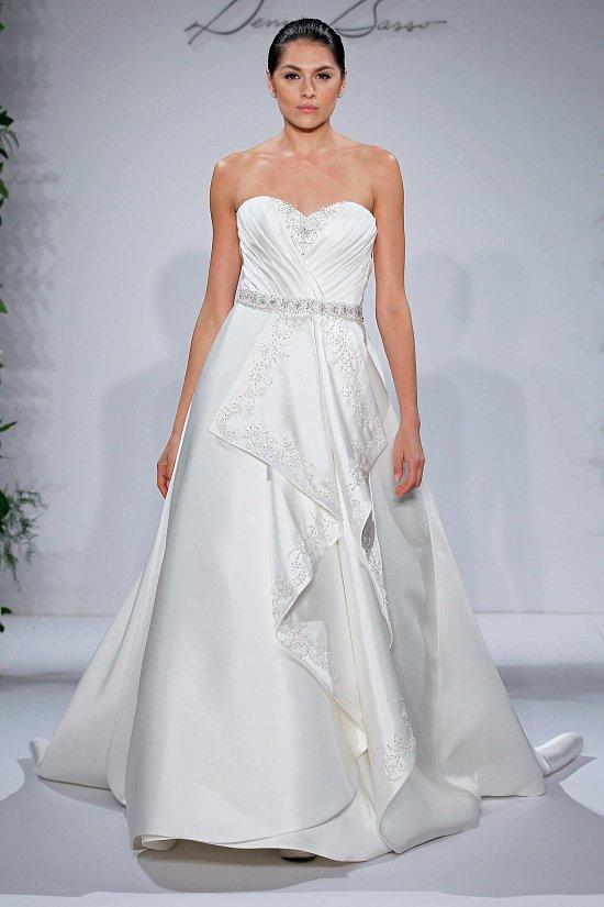 Свадебные платья Dennis Basso осень-зима 2015-2016 фото №15