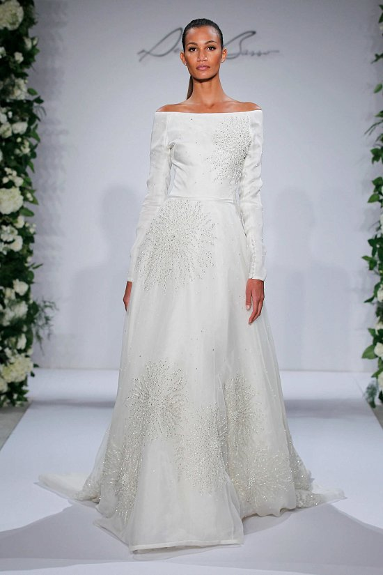 Свадебные платья Dennis Basso осень-зима 2015-2016 фото №18