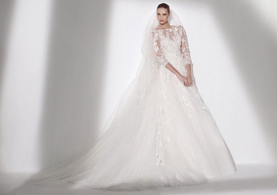 Свадебные платья Elie By Elie Saab 2015 фото №17