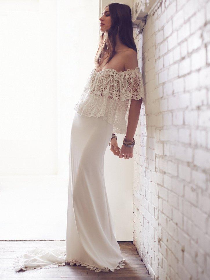 Свадебные платья Free People 2016 фото №1