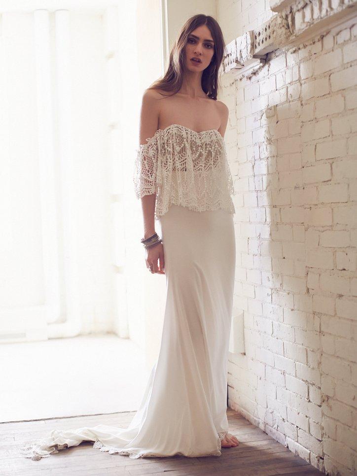 Свадебные платья Free People 2016 фото №2