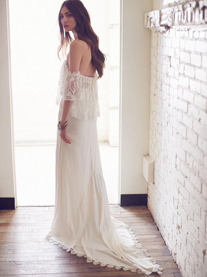 Свадебные платья Free People 2016 фото №3