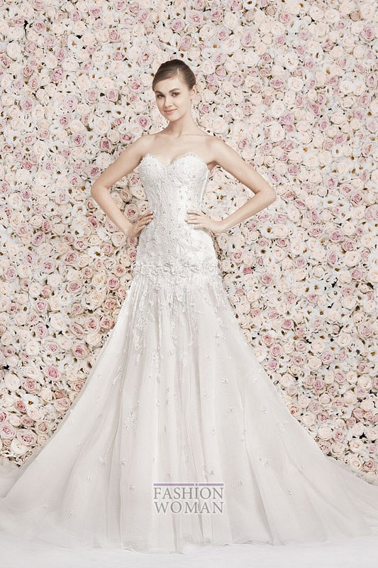 Свадебные платья Georges Hobeika 2014 фото №12