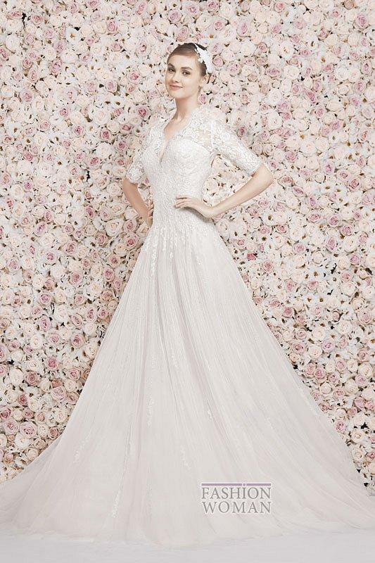Свадебные платья Georges Hobeika 2014 фото №13
